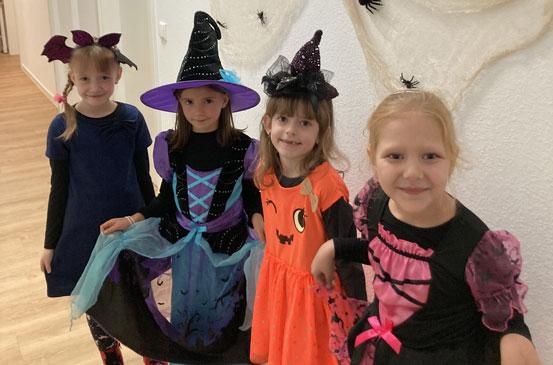 Празднование Хэллоуин
